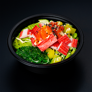 Foto California Poke Bowl (groot)