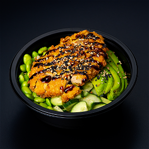 Foto Chicken Pokebowl (groot)